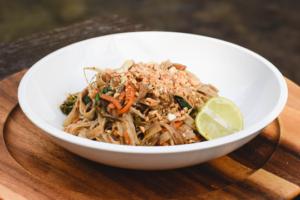 Así nos quedo el Pad thai vegano