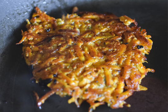 Papas Camote Rosti
